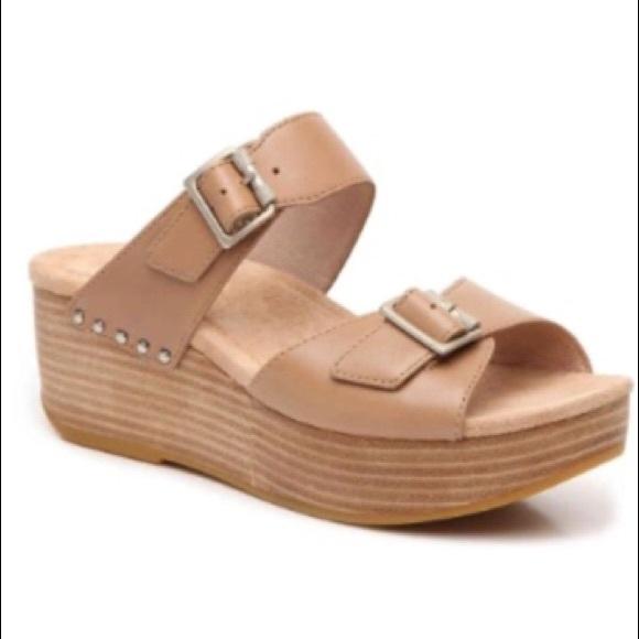 New Dansko Selma Platform Sandal Wedge